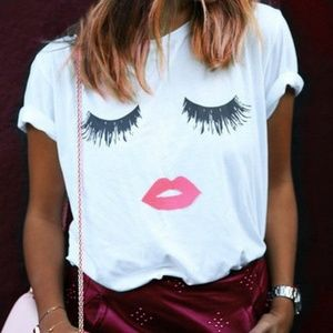 Tops - Glam Face Tee